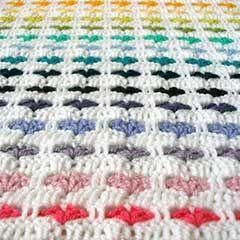 I love scraps Afghan. Download this free pattern at allcrochetpatterns.net