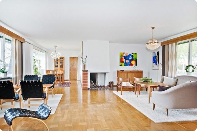 Ekebergsallén 7, Lidköping, Sweden 1948 Arkitekt: Bruno Mathsson