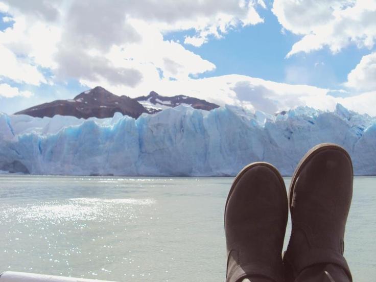 Zona norte glaciar Perito Moreno
