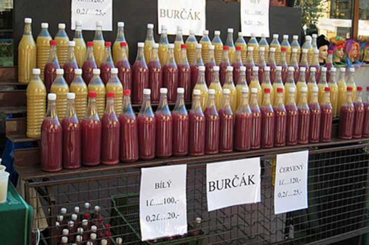 """...and that´s how it goes every year in September/October, Prague """"burčák"""". Fermented grape juice."""
