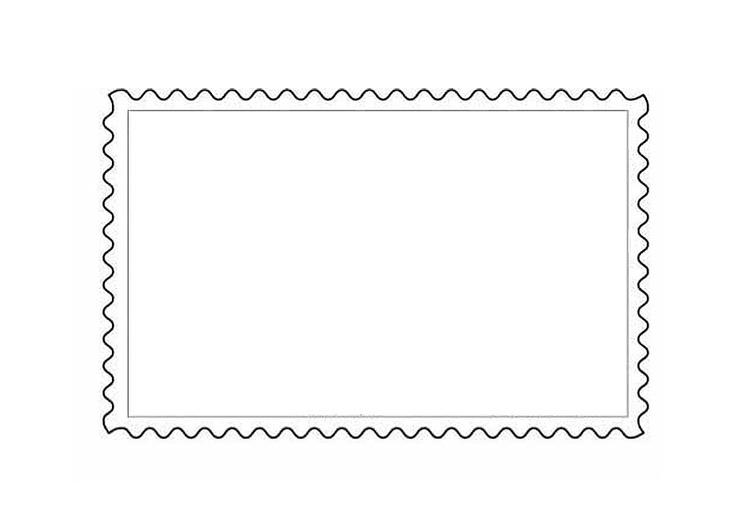 postzegelframe Postzegels ontwerpen
