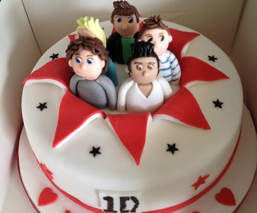 one direction birthday cake!!!!!!!!!!  I want this for my birthday...........................................