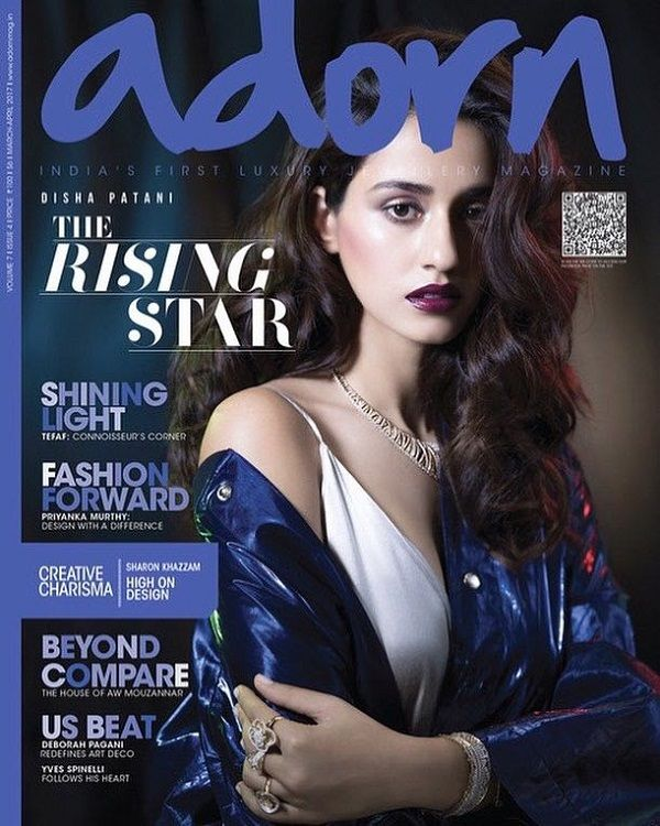 You'll fall in love with Disha Patani's pristine tresses on a latest mag cover – view pic #FansnStars