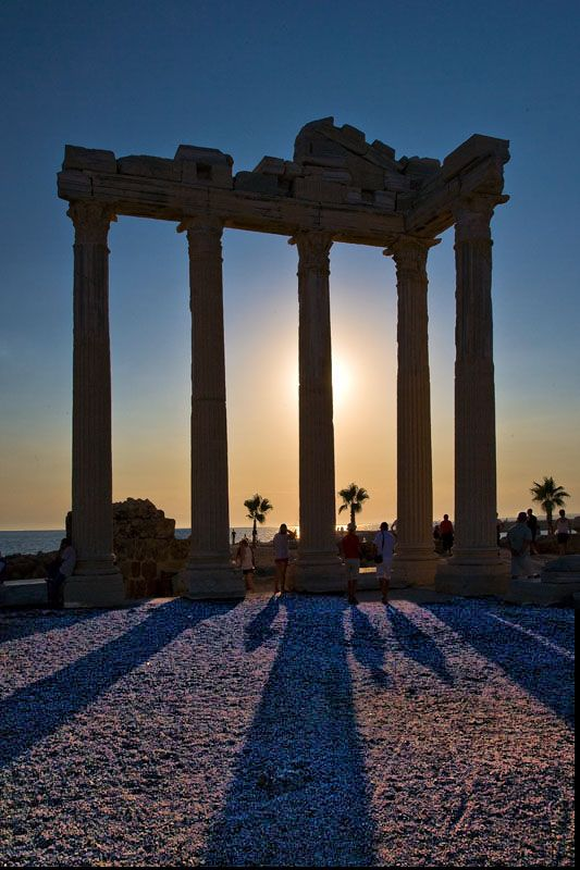 Temple of Apollon - Side, Antalya, Turkey