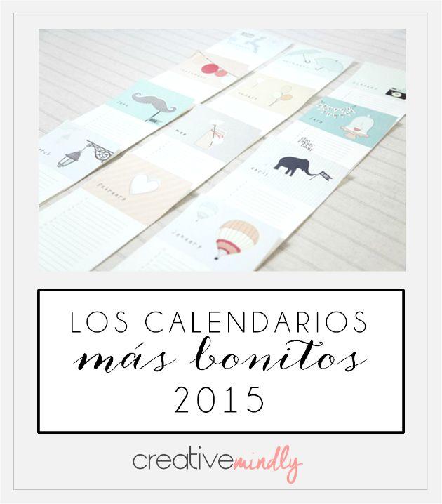 Los calendarios más bonitos para 2015