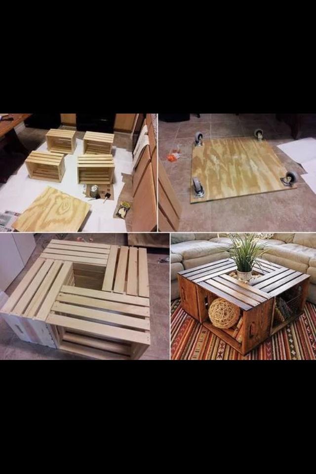 Centro de mesa materiales reciclados