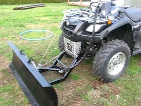 Best ATV plow ever. my version will be on my quad next year