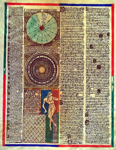 Каталонский атлас, 1375. - Старые карты.Cosmography