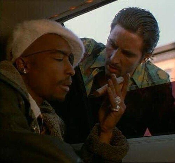 Tupac Shakur - Tank in the movie Bullet