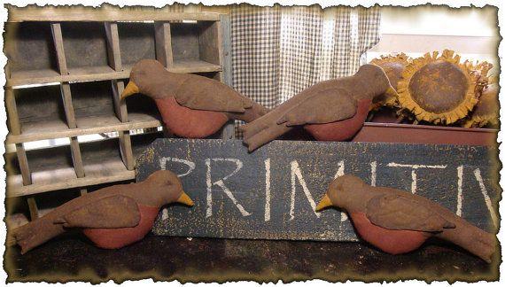 ePattern~Primitive Spring Robin Bowl Filler