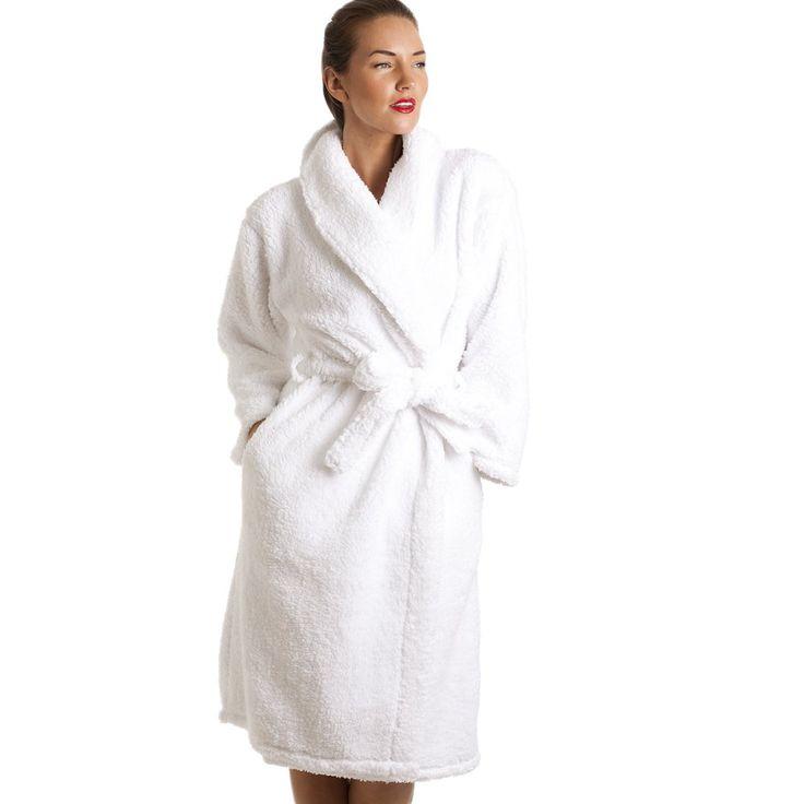 Robe White Super Soft | Fashideas.com