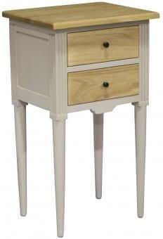 Antoinette Bedside 2 Draw. A Block and Chisel Product.