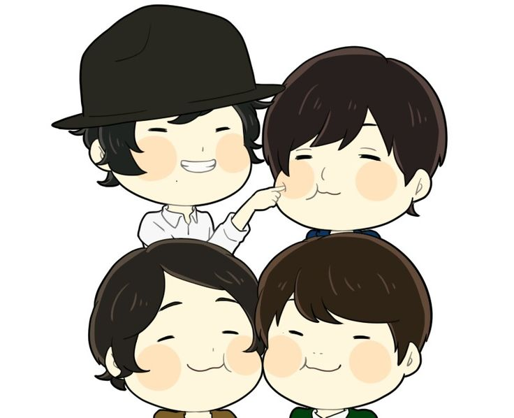 I love this band. Art by とぅじ on Pixiv. RADWIMPS.