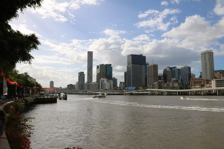 View of brisbane from southbank