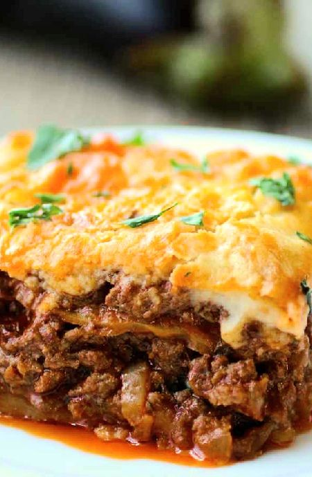 Low FODMAP Recipe and Gluten Free Recipe - Moussaka    http://www.ibs-health.com/low_fodmap_moussaka121.html