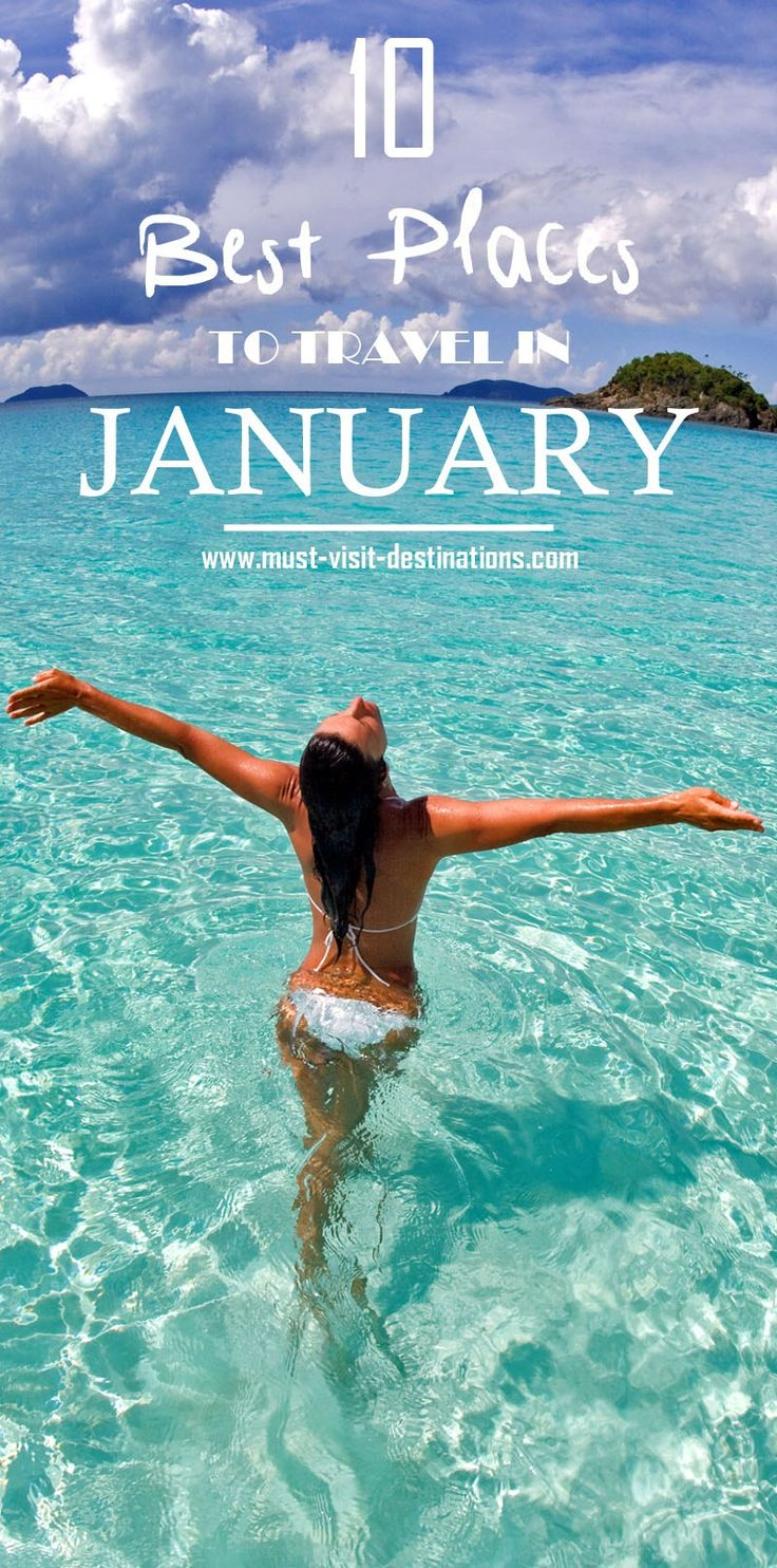 TOP 10 Places To Travel in January #travel #january