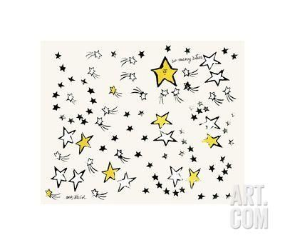 So Many Stars, c. 1958 Giclee Print by Andy Warhol at Art.com
