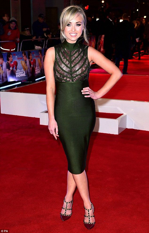 Look who's home!Jorgie Porter wasn't going to let jet lag stop her from glamming up for her first red carpet appearance since exiting the I'm A Celebrity Get Me Out Of Here jungle in fifth place last week