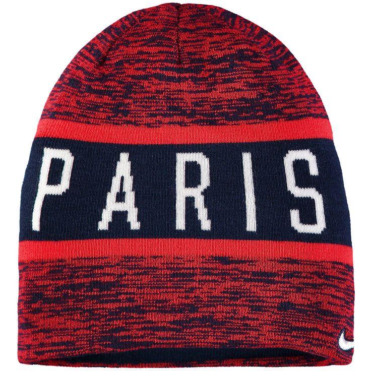 Paris Saint-Germain Nike 2016/17 Training Reversible Knit Beanie - Navy - $23.99