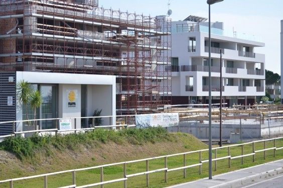 June 2014 - Building A/Building B #workinprogress #soleis #realestate #forsale #italy #lignano
