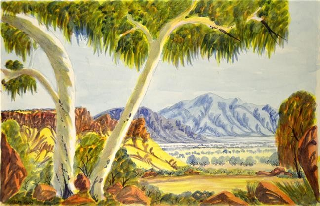 Hamilton Downs, Tanami Way by Hilary Wirri