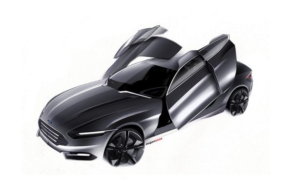 FORD EVOS CONCEPT by enns eugen, via Behance