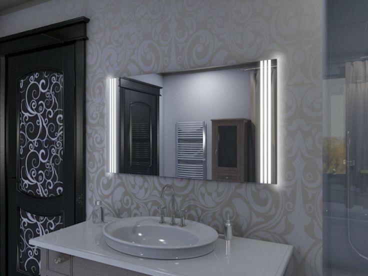 Die besten 25+ Badspiegel mit led beleuchtung Ideen auf Pinterest - badezimmerspiegel mit licht