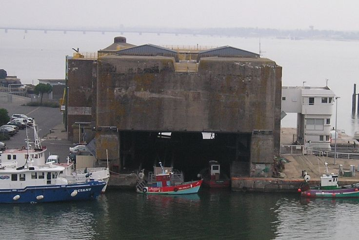 U-Boat bunker at St. Nizaire | Submarines!!! | Pinterest ...