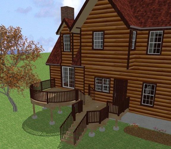 3d Design Using Home Designer Chief Architect Multi Level
