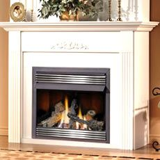 napoleon gvf36p vent free fireplace gvf36 vent free gas fireplace zero clearance - Ventless Gas Fireplaces