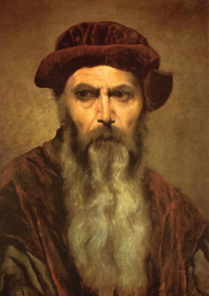 Johannes Gutenberg was the invenor of the printing press which revolutionized the world. People gained more knowledge trough books and everything spread quickly.