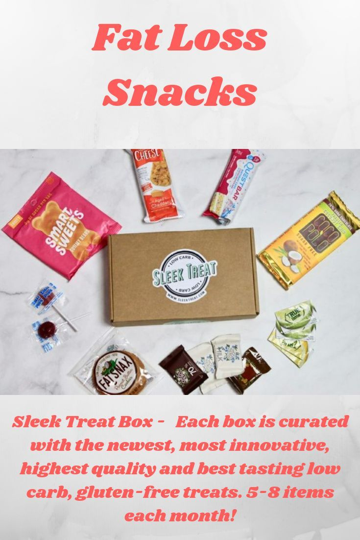 Sleek Treat Weight Loss Subscription Box Pinterest