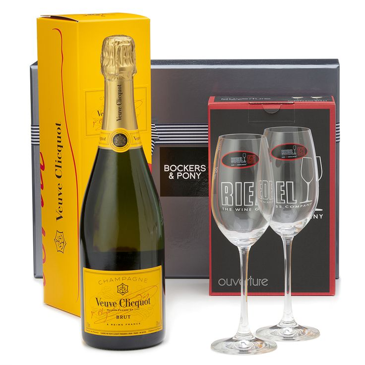 RIEDEL GLASSES + VEUVE CLICQUOT - GIFTS FOR HER