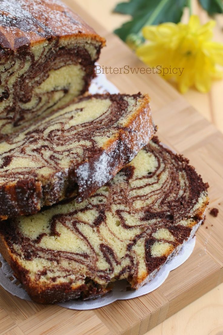BitterSweetSpicy: Marble Cake