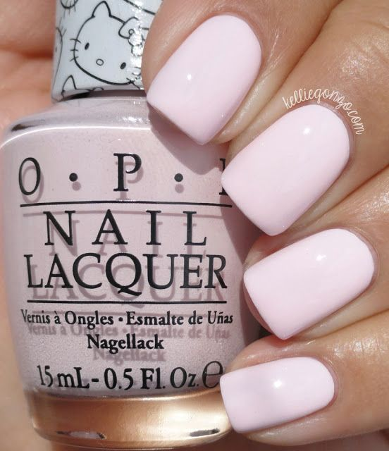 OPI Hello Kitty Collection 2016 - Let's Be Friends! // @kelliegonzoblog