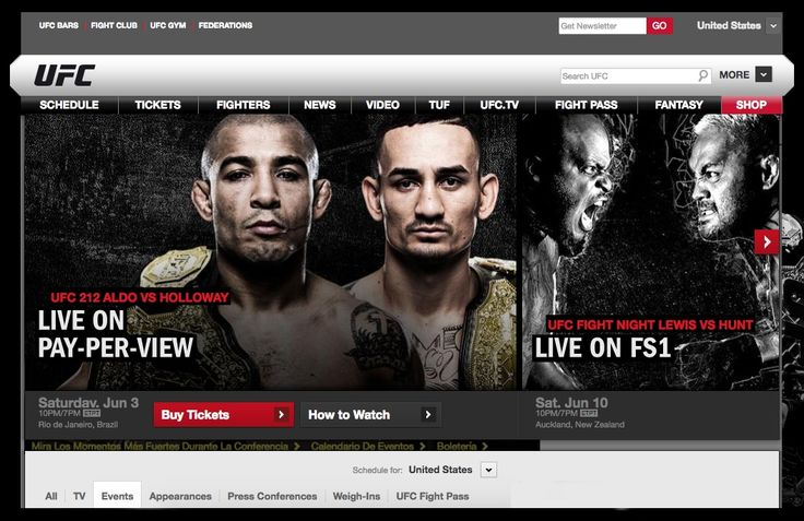 The upcoming UFC events this year are scheduled to take place in Auckland, Singapore, Oklahoma City, Las Vegas, Glasgow, Long Island, Edmonton, New York, Anaheim and Mexico City. If you live in one of these cities and want tickets, be careful.