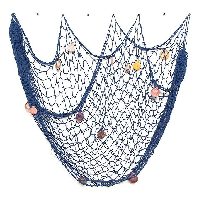 Amazon Com Kingso Mediterranean Style Decorative Fish Net With