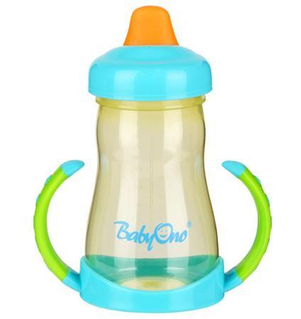BabyOno с мягким носиком 220 мл с ручками  — 370р. -------------  Кружка-непроливайка с мягким носиком поможет вашему крохе быстро привыкнуть пить самостоятельно. Он имеет яркий привлекательный дизайн и точно понравится малышу. Кружка-непроливайка развивает мелкую моторику ребенка, стимулирует к самостоятельности, способствует тренировке зрения. Его очень удобно использовать дома.   Особенности: идеально подходит для деток, которые уже учатся пить самостоятельно имеет практичный дизайн…