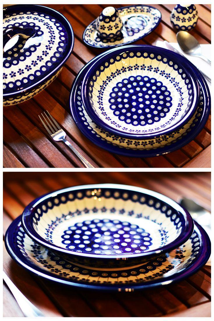 Dinner Plates. Decoration no. 166A.