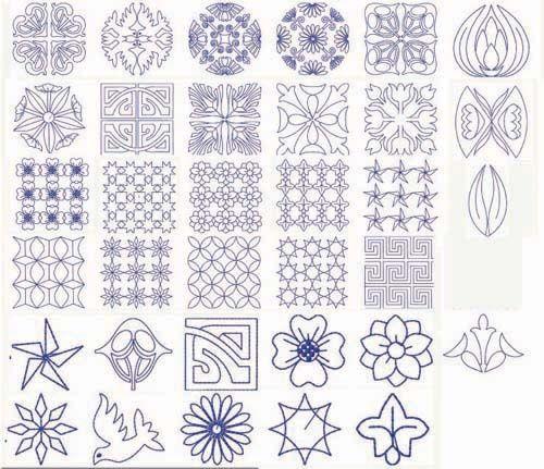 японская вышивка сашико схемы - Fast Images