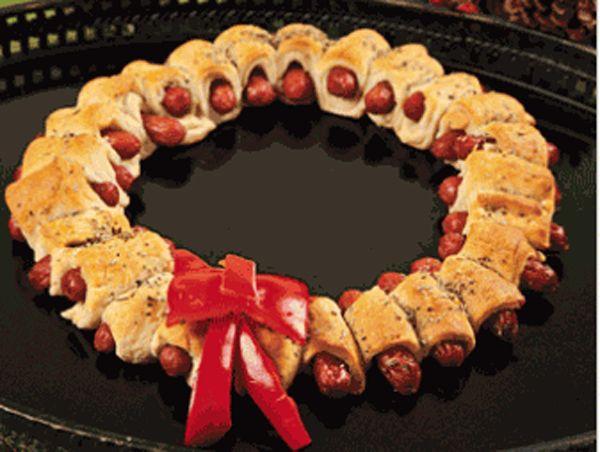 Ideas for Christmas Eve Party (esp...wreath, rosemary salt, simplifiying things...)