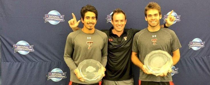 TEXASTECH.COM Dojas and Soares of Men's Tennis Capture USTA/ITA National Indoor Championship - Texas Tech University Official Athletic Site