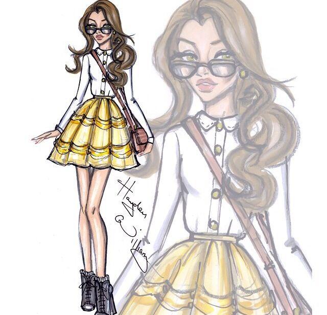 Hayden Williams disney fashionista belle