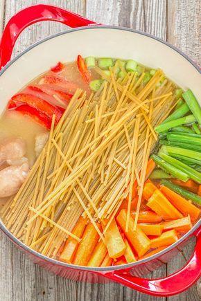 27 Cenas de poco estrés que puedes preparar en una cacerola