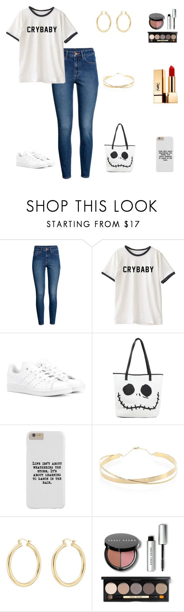 """""""Untitled #59"""" by marelyn03 on Polyvore featuring H&M, adidas Originals, Lana Jewelry, Isabel Marant, Bobbi Brown Cosmetics and Yves Saint Laurent"""