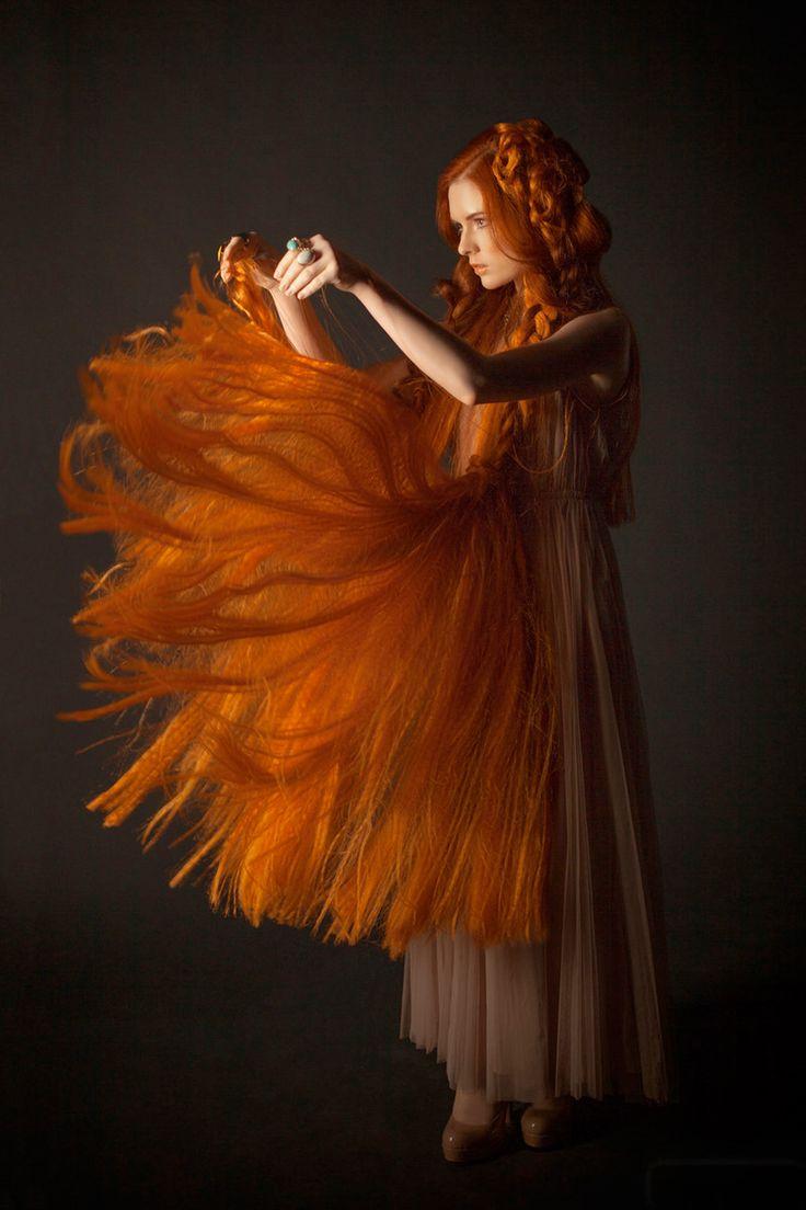 Kristin Kazz, by Anastasia Nikitskaya. Mélusine