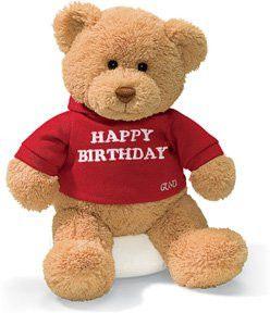 Happy Birthday Teddy Bear - 12 By Gund 15412