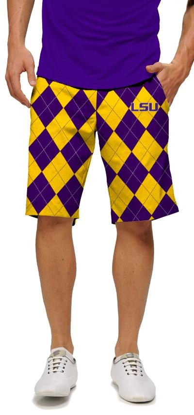 LSU Tailgate Shorts by Loudmouth