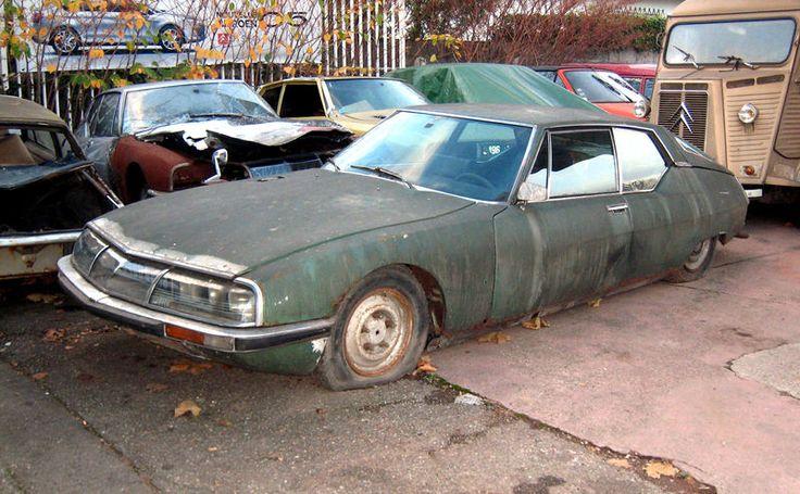 Citro 235 N Sm Cars Graveyard Barn Find Abandoned