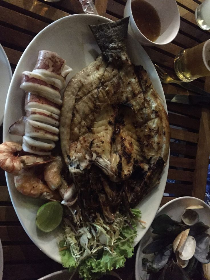 생선 오징어 구이